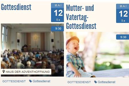 Mutter- und Vatertag-Gottesdienst