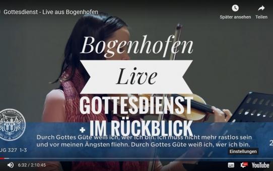 Live-Gottesdienst Bogenhofen