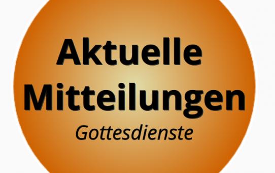 Aktuelle Informationen vom 01.08.2020 für die Besucher der Gemeinde im Haus der Advent Hoffnung in Essen