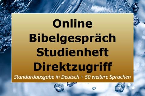 Studienheft zur Bibel - Online - täglich neu