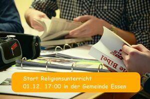 Start des Religionsunterrichts @ Haus der Adventhoffnung