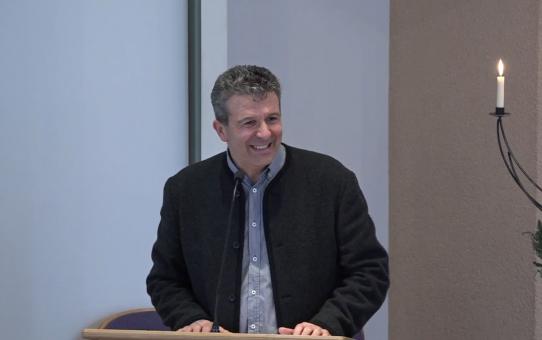 Dario Paeper im Gottesdienst am 12.12.2020