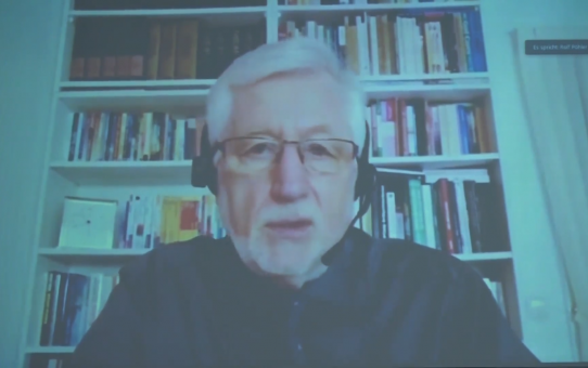 Prof. Rolf J. Pöhler im Gottesdienst 08.05.2021 Teil 1